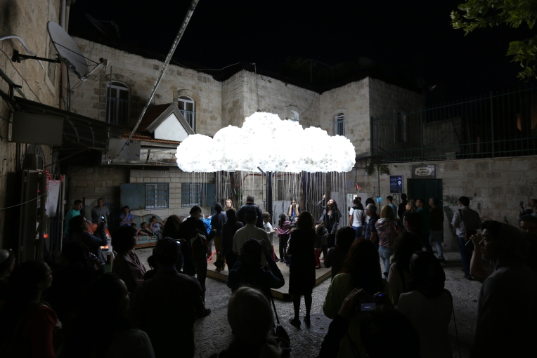 CLOUD in Jerusalem, photo by Caitlind Brown