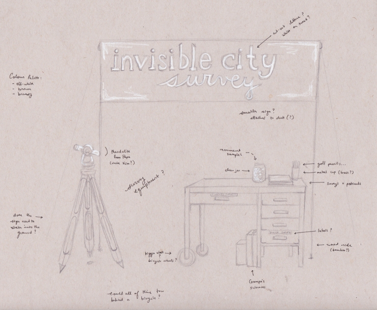 Invisible City Survey Booth 1